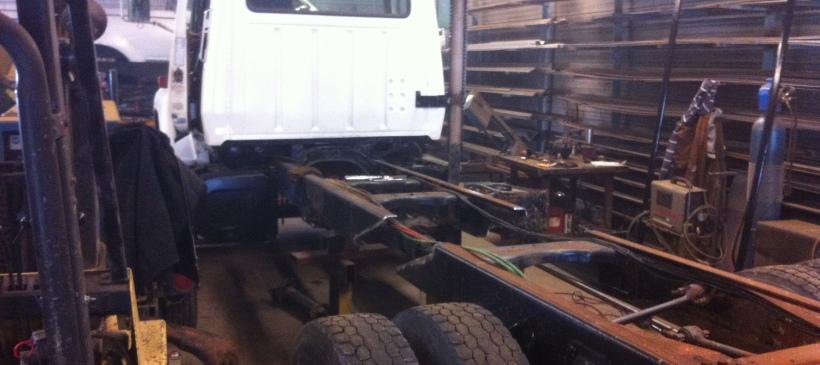 Modify (shorten) Truck Frame