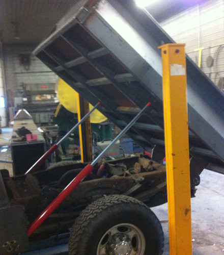 Hydraulic Truck Bed with Tailgate