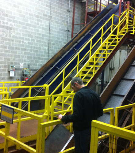 Factory Safety Railing & Stairs